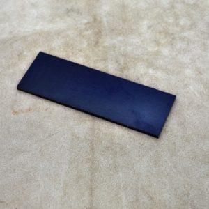 Mikarta - black 125x40x3.5 mm.