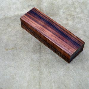 Rosewood 125x40x25mm.