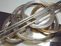 Stainless steel rod f3mm. with a length of 300 mm.