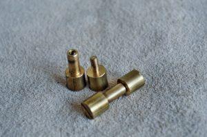 Corby rivet6mm. brass