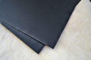Fiber black 0.8mm.-140x125mm.