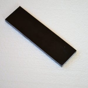 G-10 Black 400x140x3.2 mm.