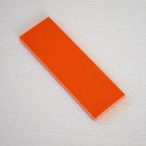 G-10 Orange 400x140x6.4mm.