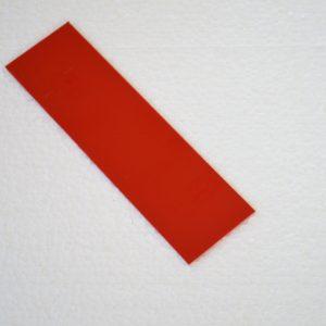 G-10 red  140х38х6.4mm.