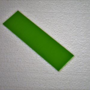 G-10 Toxic green 400х140х0.5mm