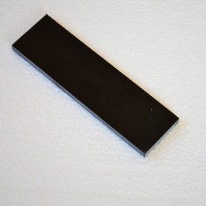 Mikarta black paper 140x38x8mm.