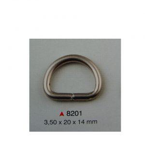 Nickel half-ring №2