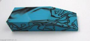 Acrylic deep blue 120x40x25