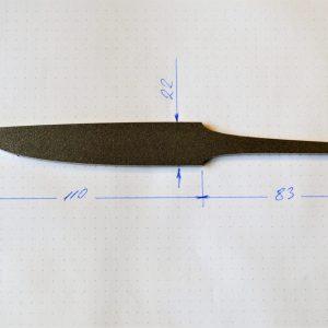 Blade 110 / 3.5mm.-steel AEB-L