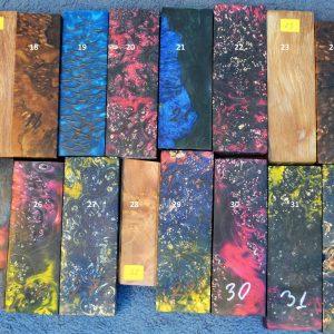 Stabilized wood 2