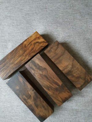 Walnut selection 130x40x25mm.