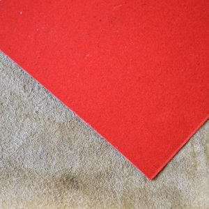 Fiber red 0.8mm.-140 / 125mm.