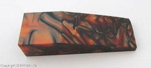 Acrylic lava 125x40x25 mm.