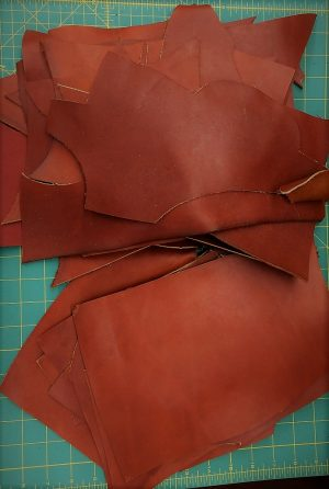 Leather whiskey 3.0mm.- 30x20cm.