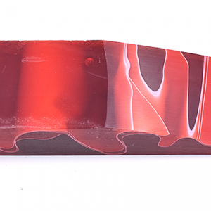 White in red 120x40x25mm.