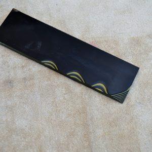G-10 Black / yellow 400x140x6.4mm.